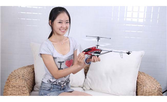 <b>电动遥控飞机玩具</b>