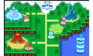 游戏里的地图游戏地图卡