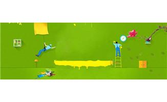 春季家装节绿色淘宝海报