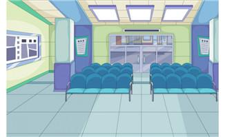 银行内部场景6_flash二维动画素材mg动画制作矢量图素材扁平化设计