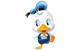 卡通可爱小鸭子