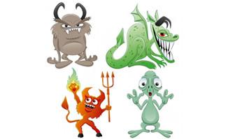 卡通动物图片素材