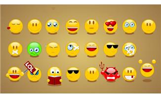 可爱笑脸表情flash动画