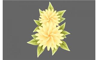 春天盛开的花朵flash动画