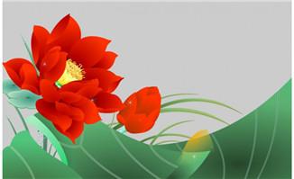 花草植物透明flash动画