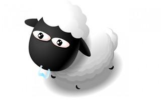 走路的小绵羊动画效果