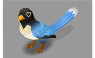 跳动的小鸟flash动物素材