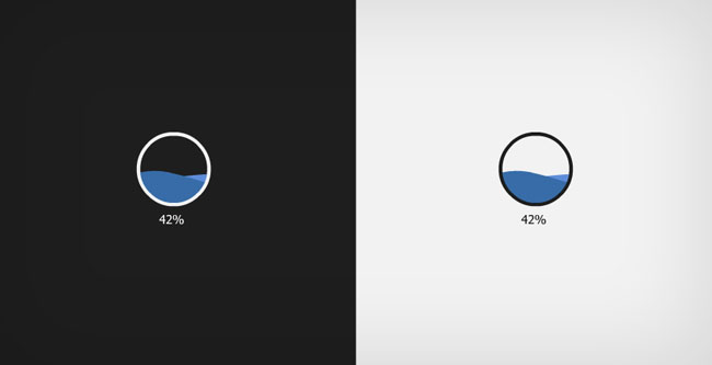 水波纹进度条flash素材_flash二维动漫素材创意动画.
