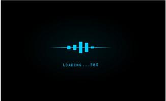 条形频谱loading加载动画