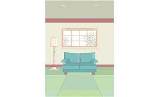 室内装饰矢量图(35)