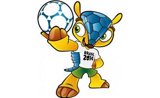 巴西世界杯吉祥物矢量素