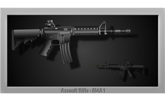 M4A1发射flash动画