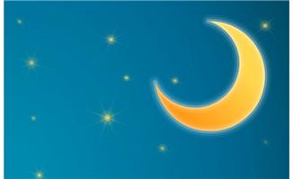 白云在月亮上飘动flash动画