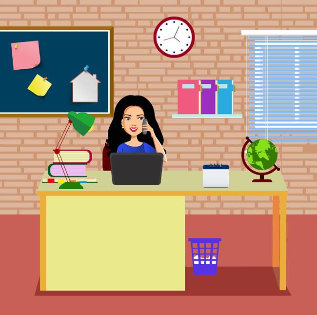 主页 flash素材 flash小动画 > 办公室听电话的女孩flash动画  热门