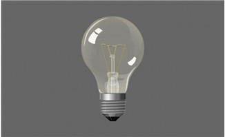 灯泡闪烁电灯动画模板素