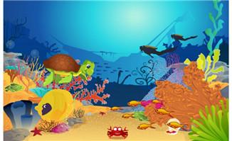 海底世界动物动画动态效
