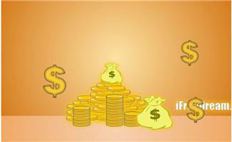 金融货币符号flash动画
