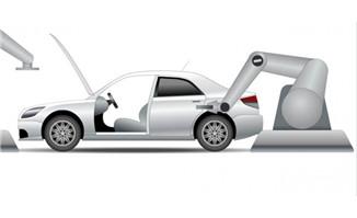 汽车组装过程flash动画