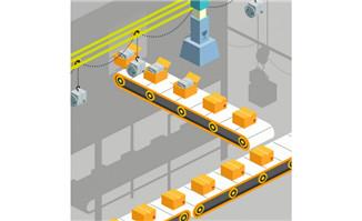 生产线包装阶段,智能化