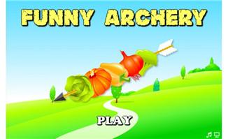有趣射箭游戏flash动画