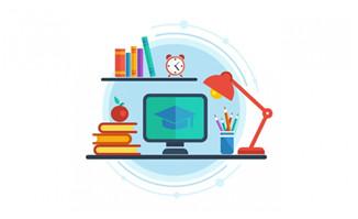 在线远程教育flash动画