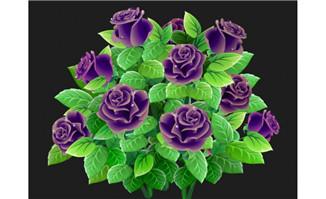 精致的植物花朵背景设计