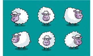 flash动画动物多款绵羊卡通