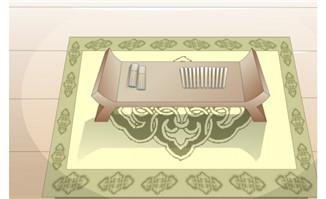 flash场景素材古代桌子
