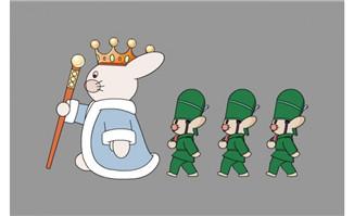 老鼠行走flash动画
