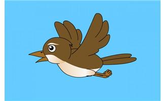 小鸟飞翔flash动画
