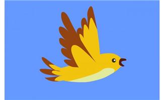 小鸟飞翔的flash动画
