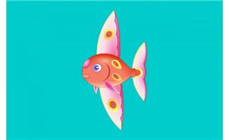 鱼摆动尾巴flash动画