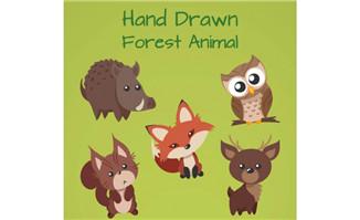 矢量动物 - flash二维动画素材mg动画制作矢量图素材扁平化设计免费
