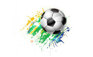 各种体育运动主题元素贴纸设计矢量素材_flash二维mg.