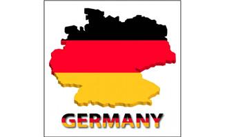 德国地图矢量图