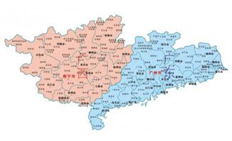 广东广东矢量地图cdr格式