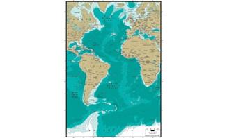 精美矢量世界地图素材-大