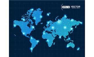 蓝色梦幻世界分布图图片