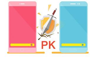 扁平化设计手机PK图片pn