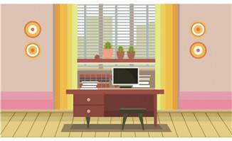 粉色墙面室内效果图图片