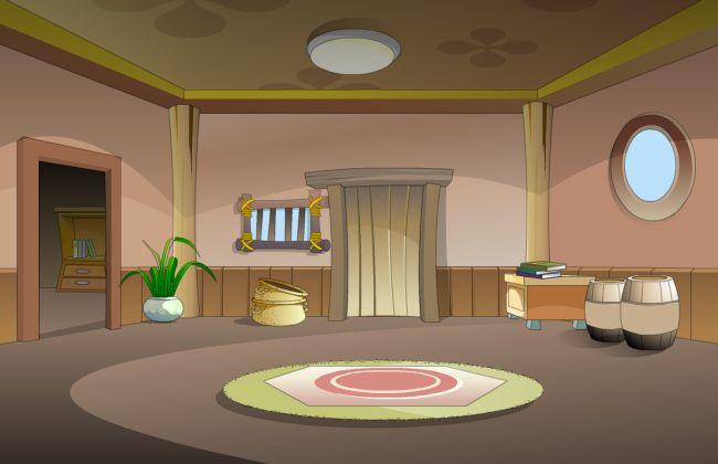 flash动画场景素材室内摆设