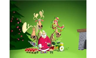 卡通圣诞节flash素材下载