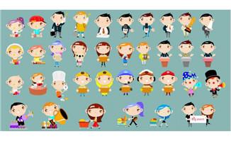 埃及法老卡通形象设计flash动画制作素材