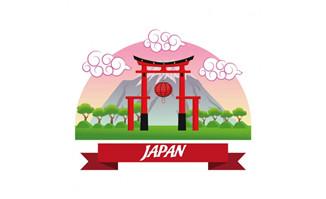 扁平化设计日本文化设计