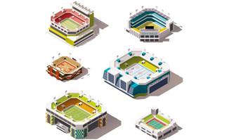 圆环城市3D模型建筑图片矢