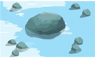 flash二维动画素材mg动画制作矢量图素材扁平  卡通海洋生物鲨鱼矢量