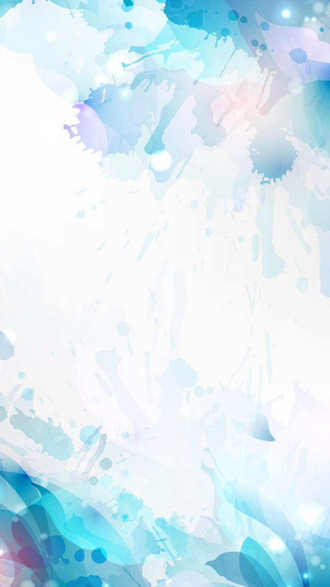 彩色水彩艺术h5背景_flash二维动画素材mg动画制作图.