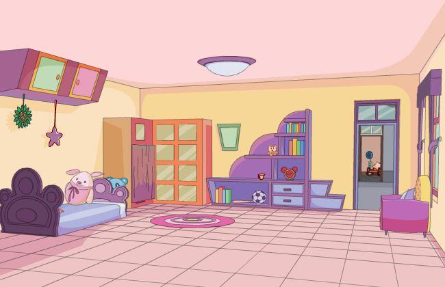 儿童房间场景素材设计flash动画制作素材下载