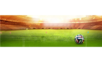 足球与足球球场背景设计