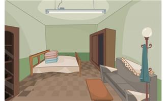 中式室内场景设计flash动画